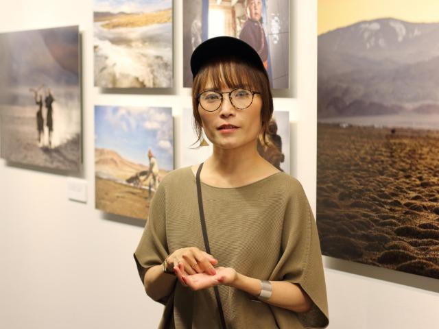 厳しい自然の中で暮らす遊牧民たちを撮影した松尾純さん