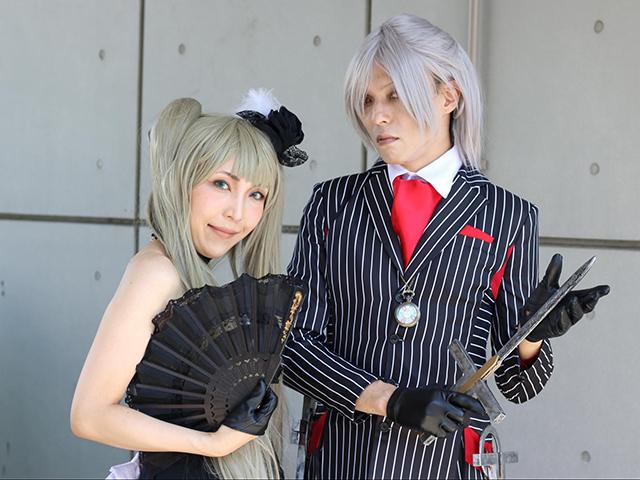三岡瑞希さんとALTO TANAKAさん。FGOのコスプレ