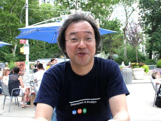 ジャズを聴くため、毎年ニューヨークを訪れる益子博之さん