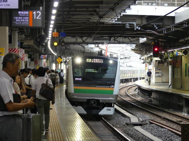 品川を通る東海道線のほとんどは上野東京ラインとして運転される