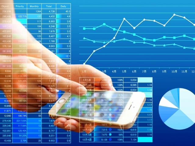 スマートフォンで始められる投資サービス