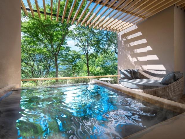 「界 仙石原」の温泉(写真提供:星野リゾート)