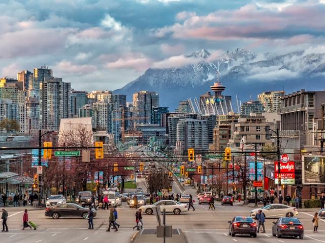 旅先として人気のカナダ・バンクーバー(Photo by Getty Images)