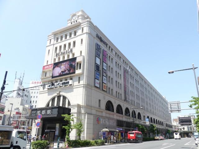 2012年に開業当時の姿に復元された東武浅草駅
