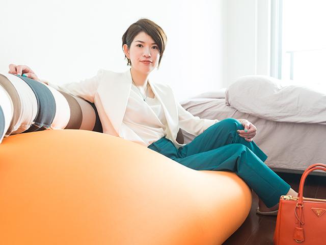 田上顕子さん(撮影・齋藤大輔)