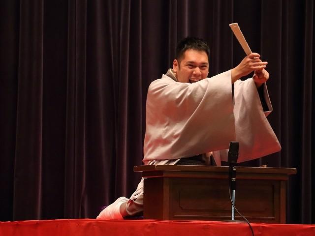講談師・神田松之丞さん