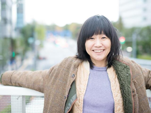 ニューヨーク在住の文筆家・佐久間裕美子さん(撮影・齋藤大輔)