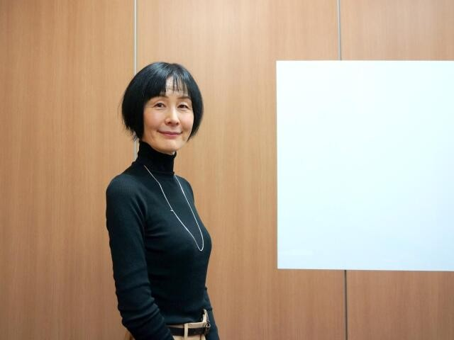 モータージャーナリストの岩貞るみこさん(撮影・渡辺鮎美)
