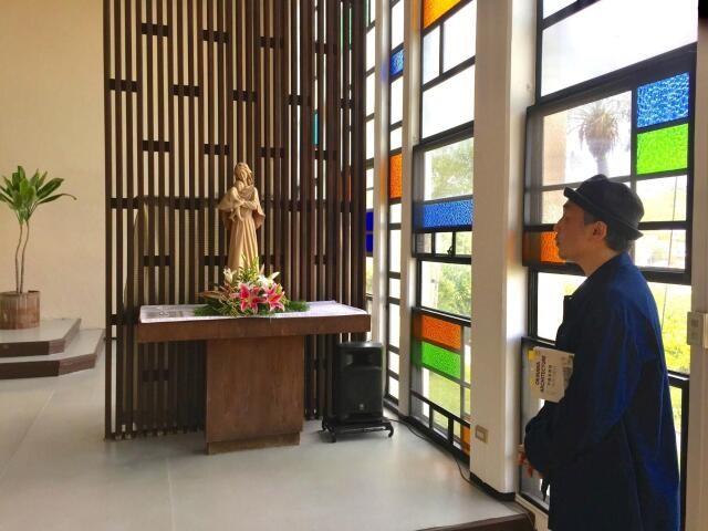 沖縄・与那原の聖クララ教会