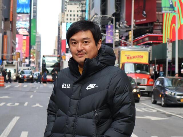 「Blue United Corporation」社President & CEOの中村武彦さん