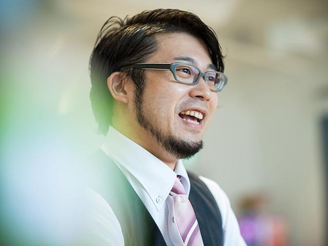 荒井宏之さん(撮影・斎藤大輔)