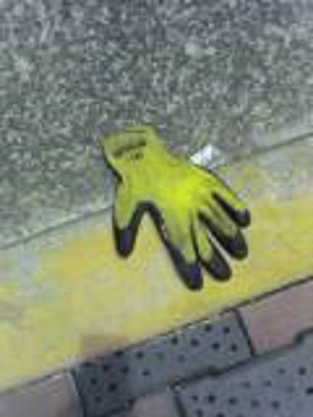 片手袋研究にきっかけとなった「最初の一枚」(2004年撮影)