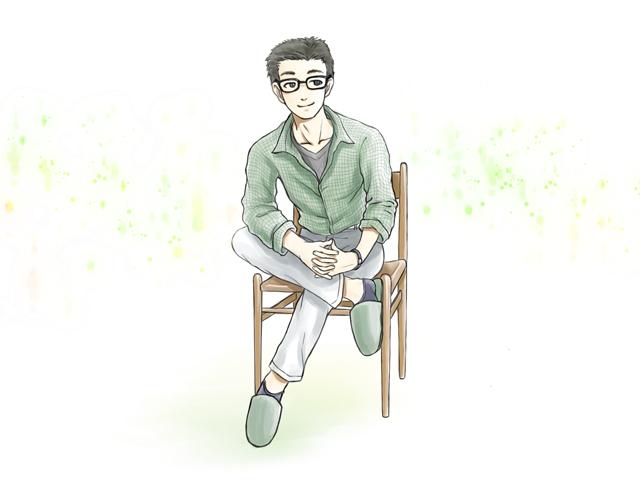 究極の居心地は椅子にあり(イラスト・古本有美)