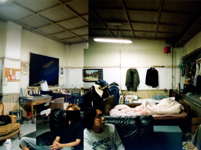 西さんが暮らしていた東大駒場寮の部屋