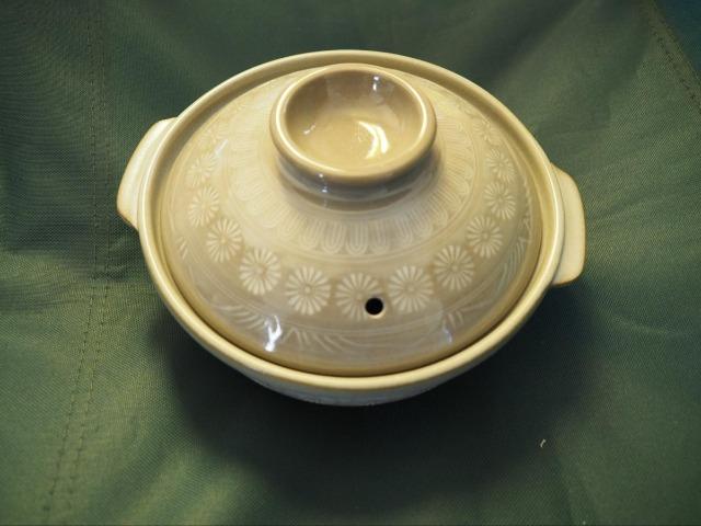 新品の土鍋