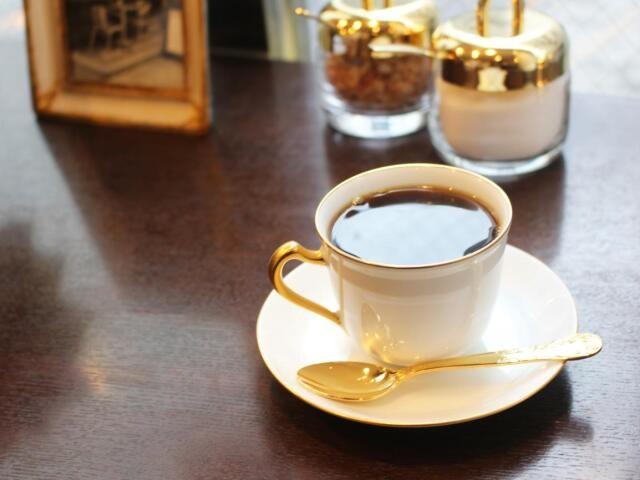 上品でぜいたくな味わいのブレンドコーヒー=珈琲貴族エジンバラ