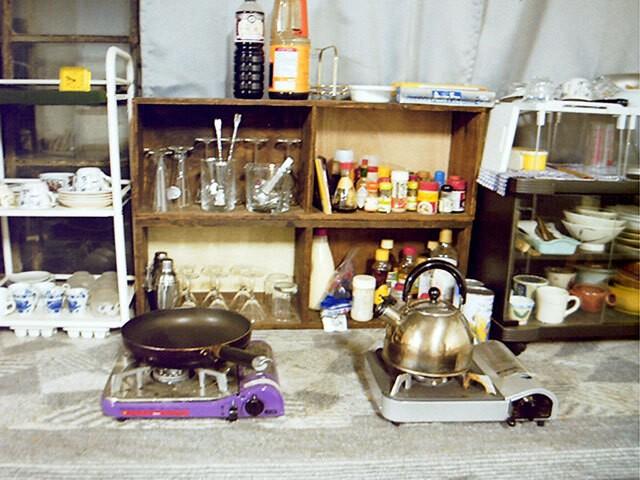 西さんが暮らしていた東大駒場寮の部屋2
