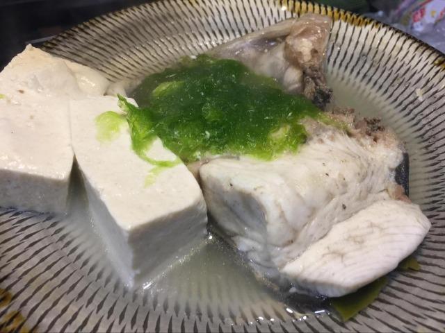 沖縄の地魚チヌマンのマース煮