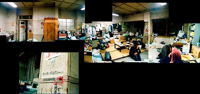 原田さんが暮らしていた部屋