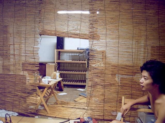 宮崎さんが暮らしていた東大駒場寮の部屋
