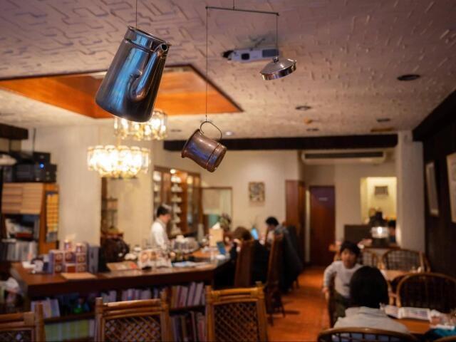 喫茶フィガロの店内