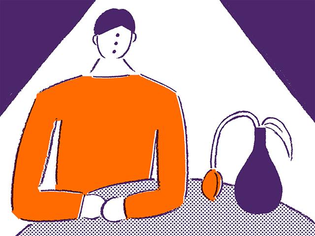 自分のために働いて何が悪いんだ。自分の人生じゃないか(青春発墓場行き 9回)(イラスト・戸梶 文)