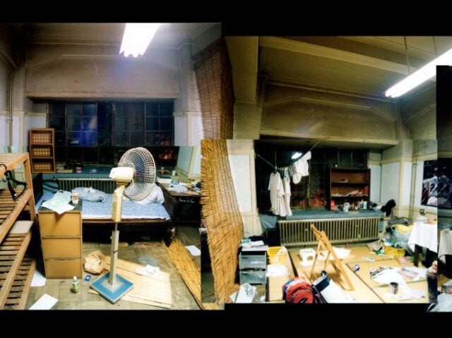 駒場寮にあった宮崎さんの部屋(窓側)