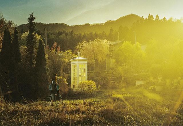 大槌町にある「風の電話」が撮影に使われた。海外のメディアでも話題に (C)2020 映画「風の電話」製作委員会