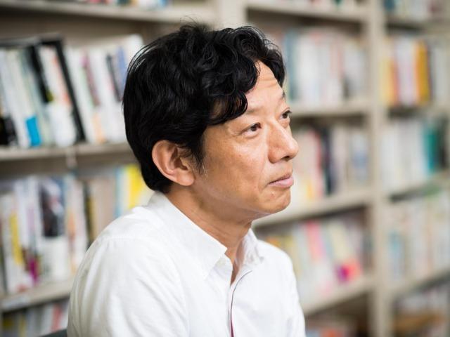 話を聞く柳瀬博一さん(撮影・斎藤大輔)