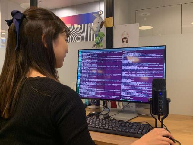 自動音声認識AIのため何時間もかけて開発をすることも