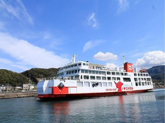久里浜〜金谷を1日約14往復している東京湾フェリー